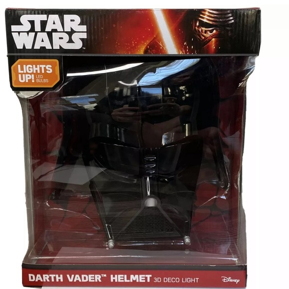 Accents Disney Star Wars Darth Vader Helmet 3d Deco Light Poshmark